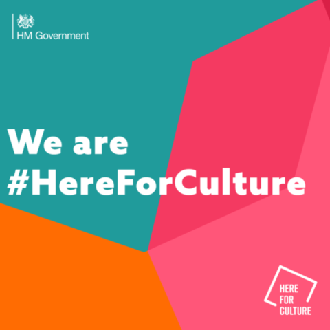 #HereForCulture logo
