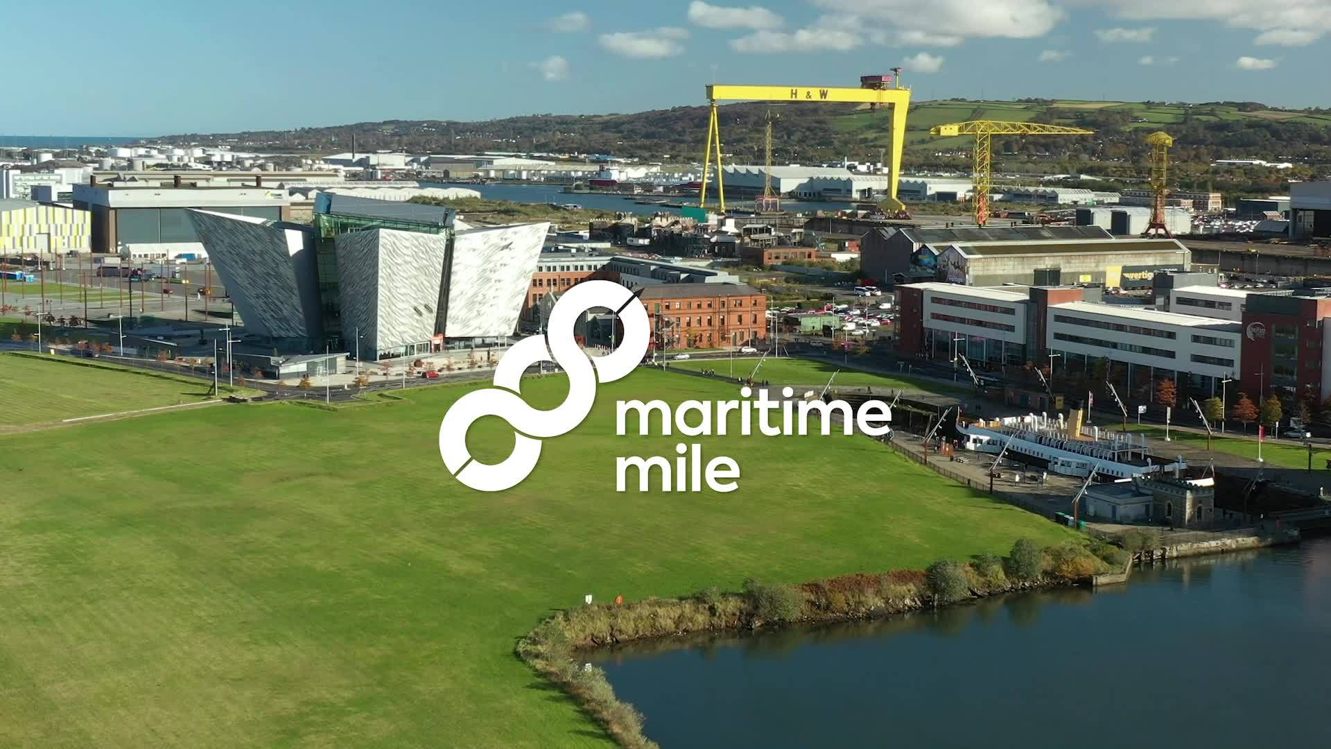 The Maritime Mile in Belfast (c) Maritime Belfast Trust
