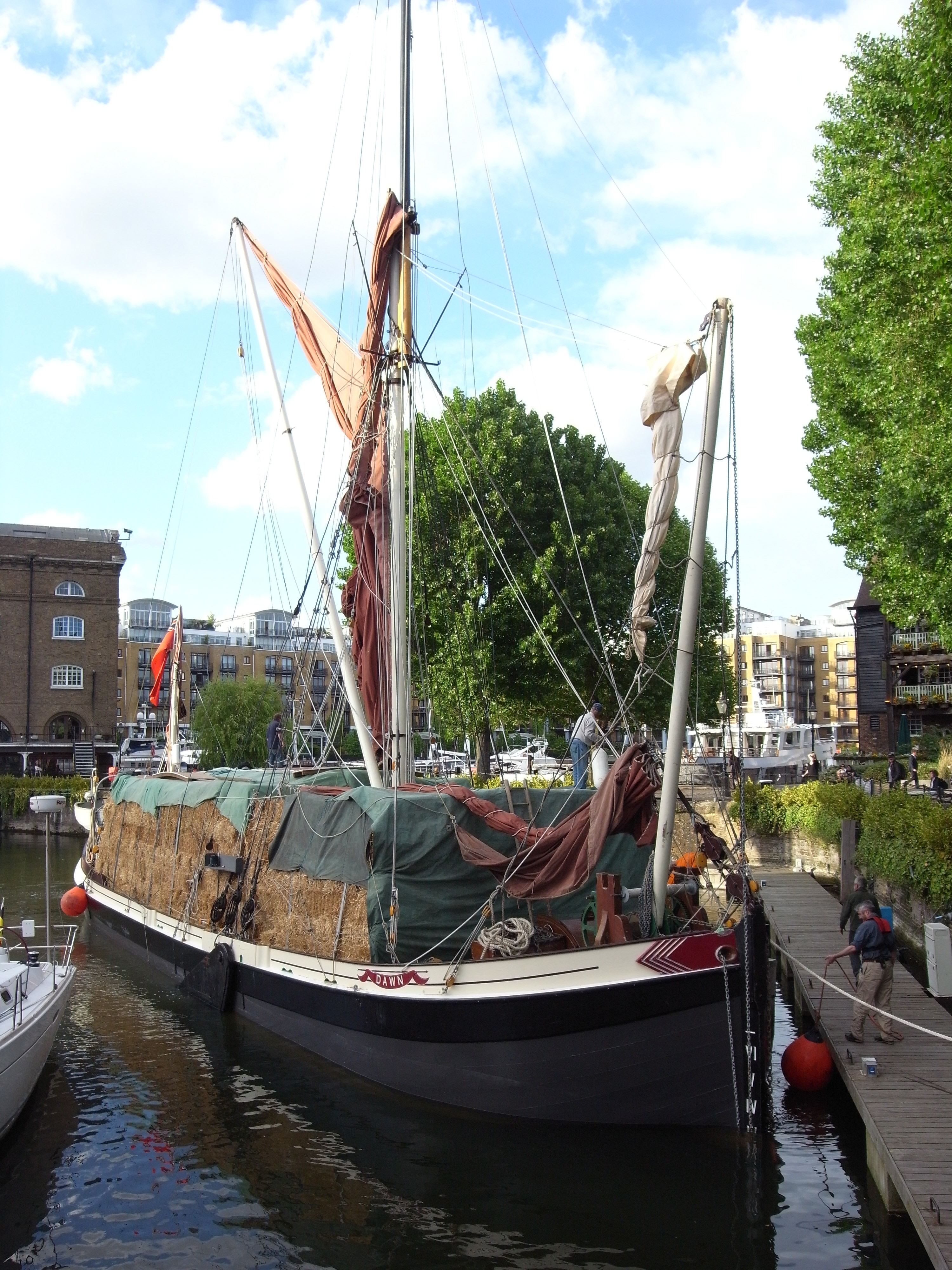Name Dawn National Historic Ships