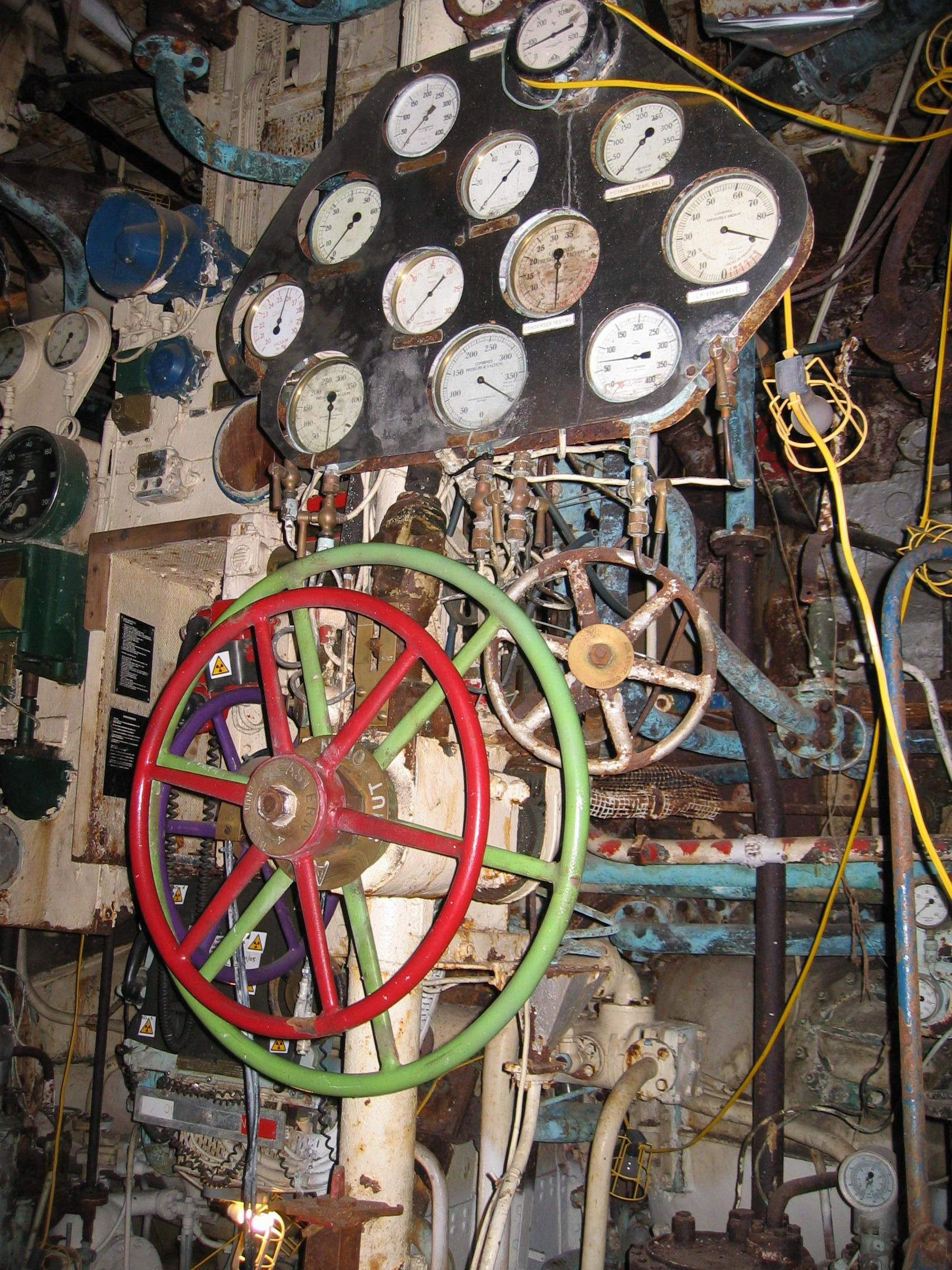 Steam Ship Engine Room: National Historic Ships