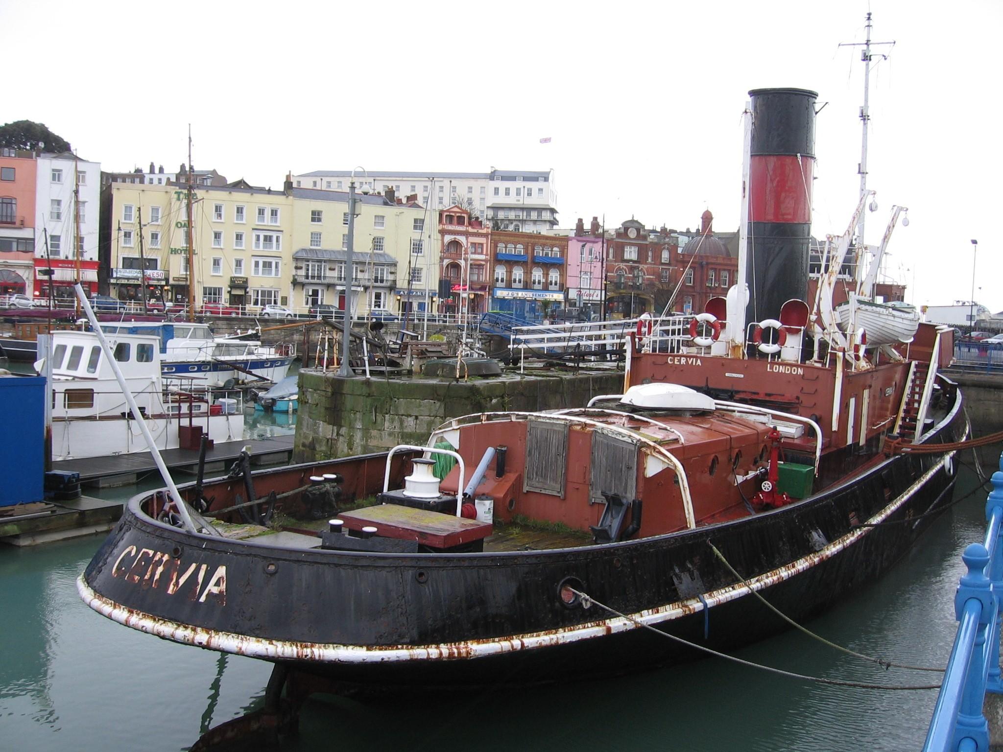 Name Cervia | National Historic Ships
