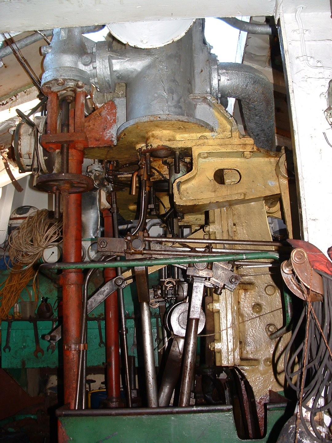 The Engine Room From Way Back: National Historic Ships