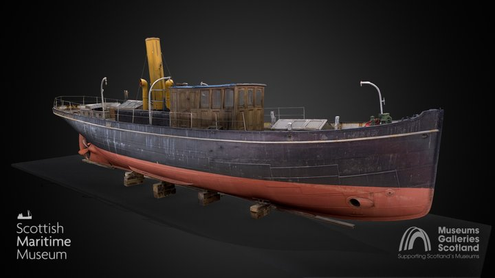 Carola 3D still (c) Scottish Maritime Museum