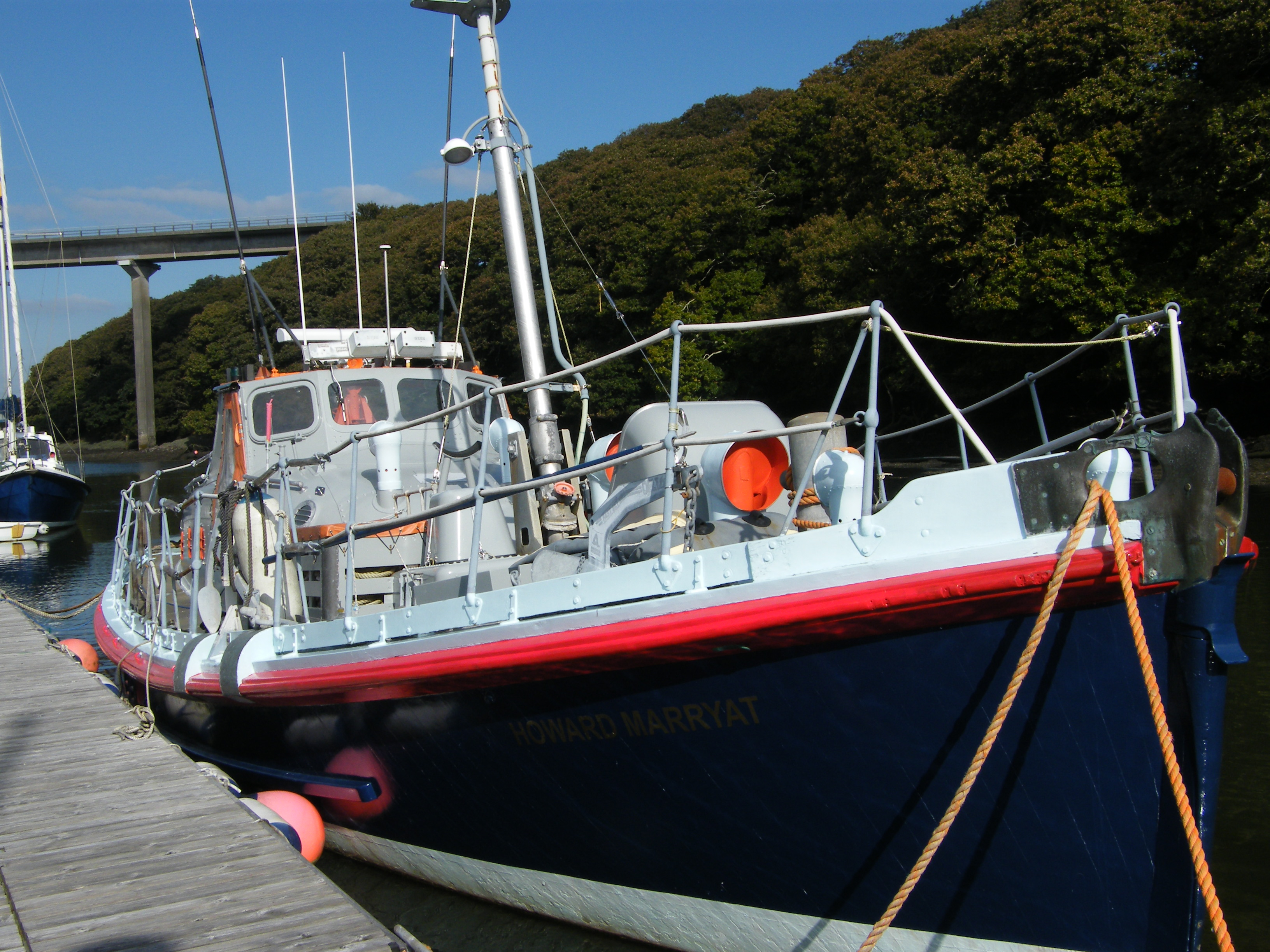 """Howard Marryat"" - an RNLI 46' 9"" Watson lifeboat - 2 year refit."