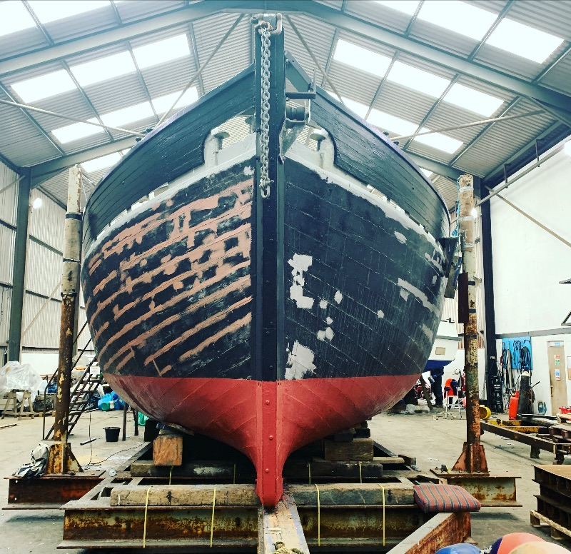 Lynher undergoing annual maintenance