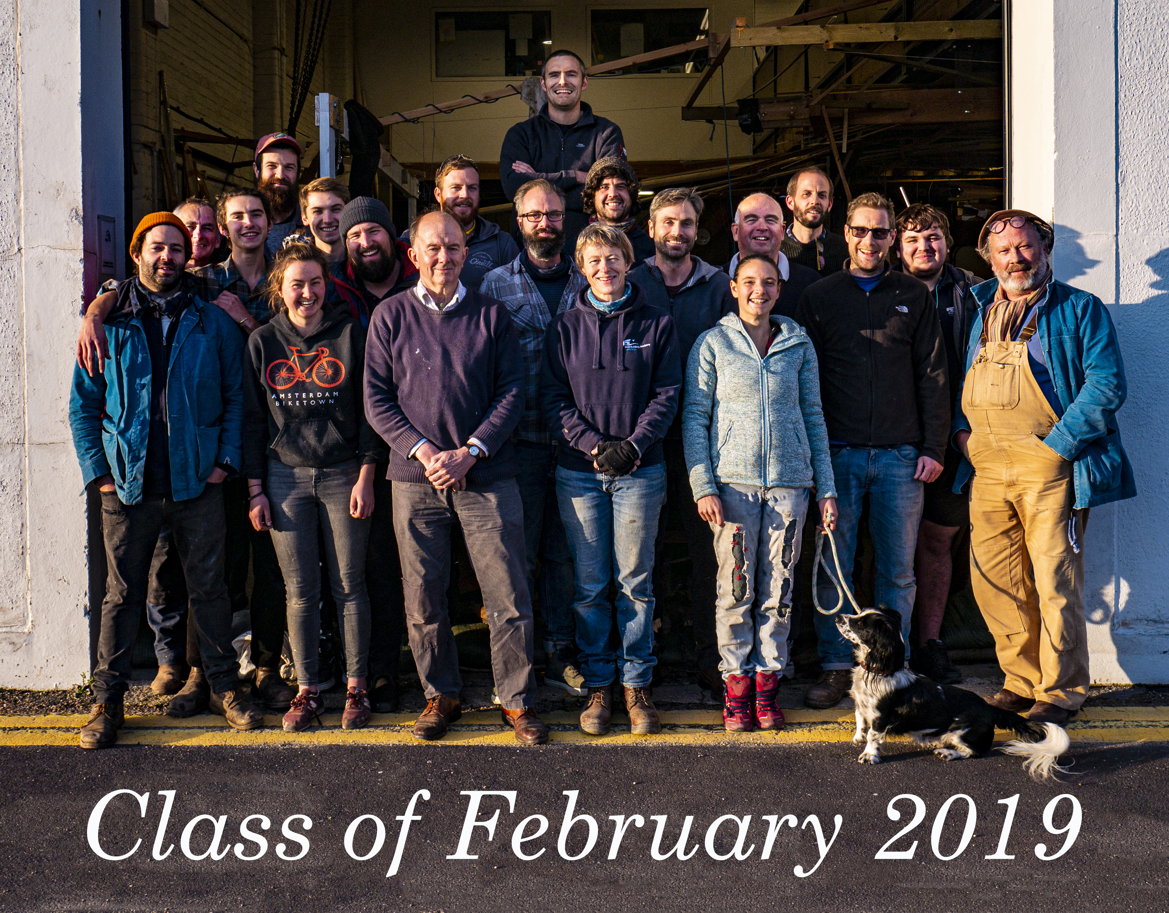 Boat Building Academy Class of Feb 2019 (c) Boat Building Academy