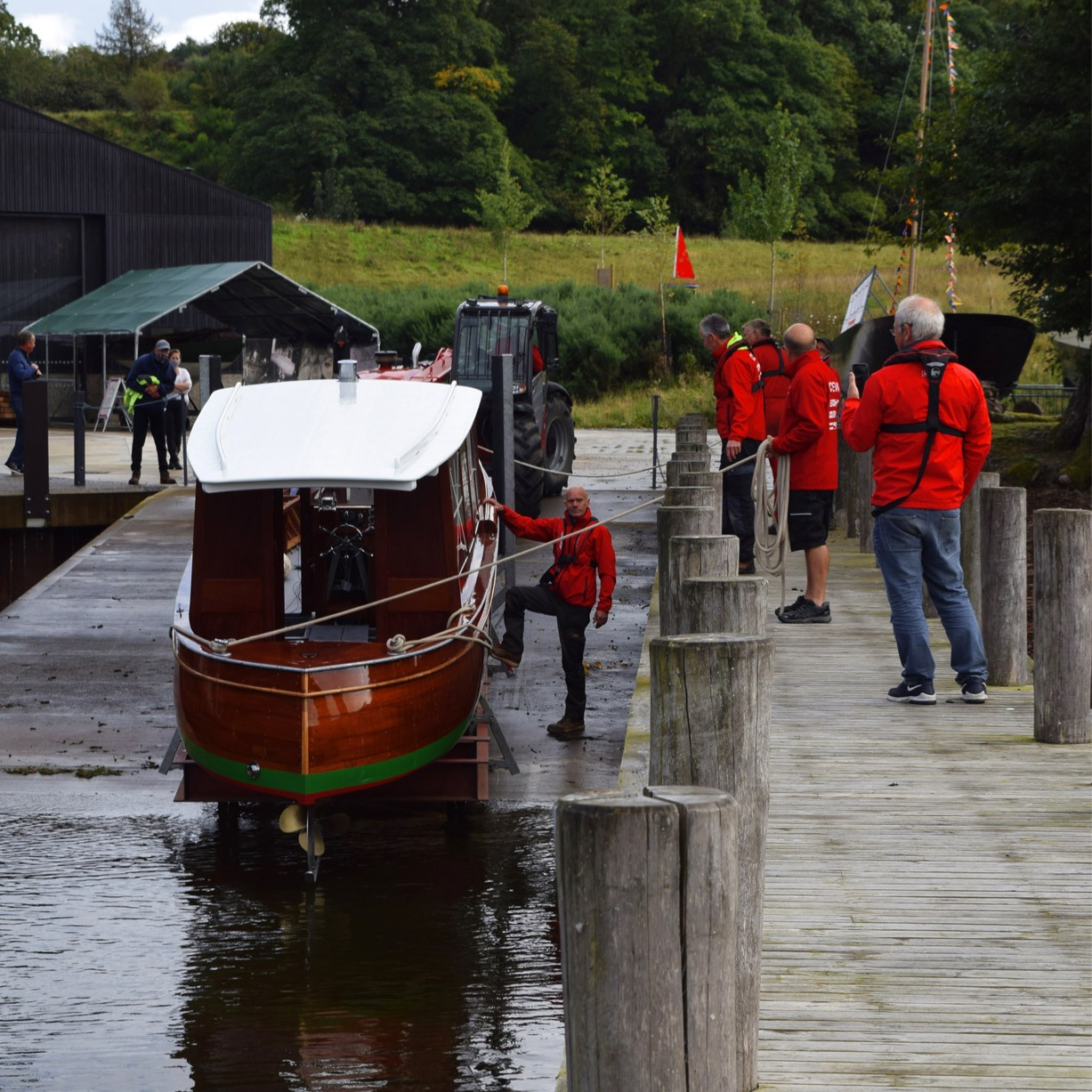 Penelope II relaunch end of Sep 2020 (c) Windermere Jetty Museum
