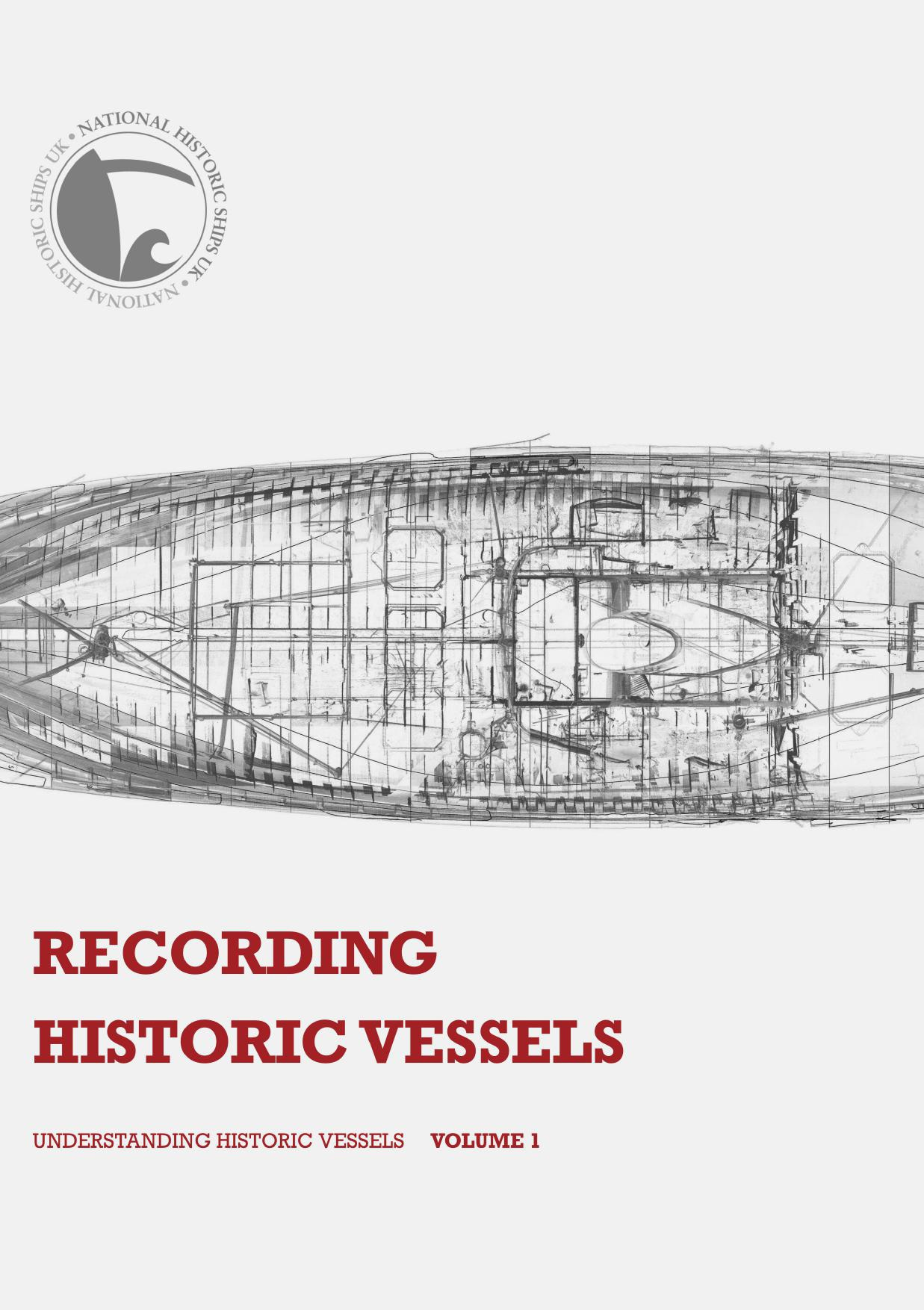 Recording Historic Vessels - front cover