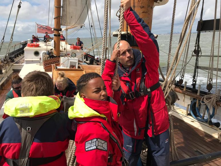 The Cirdan Trust sailing (c) The Cirdan Trust