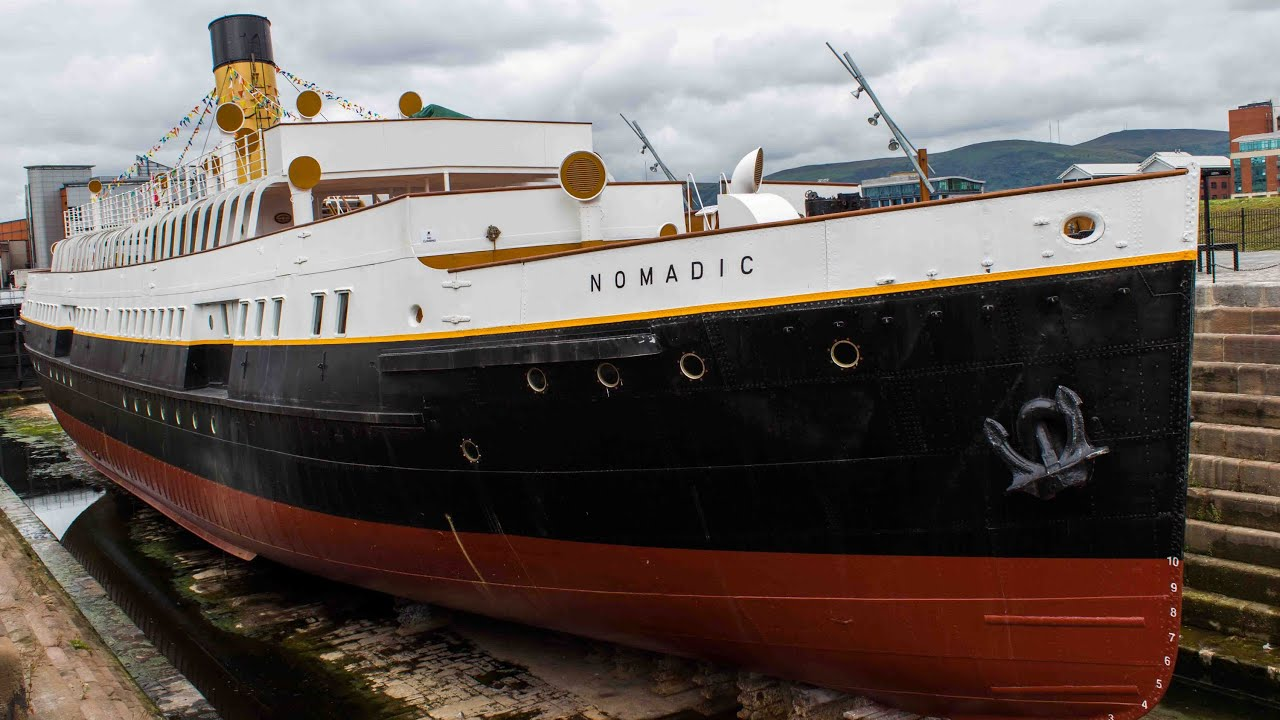 SS Nomadic (c) Archaeology Soup