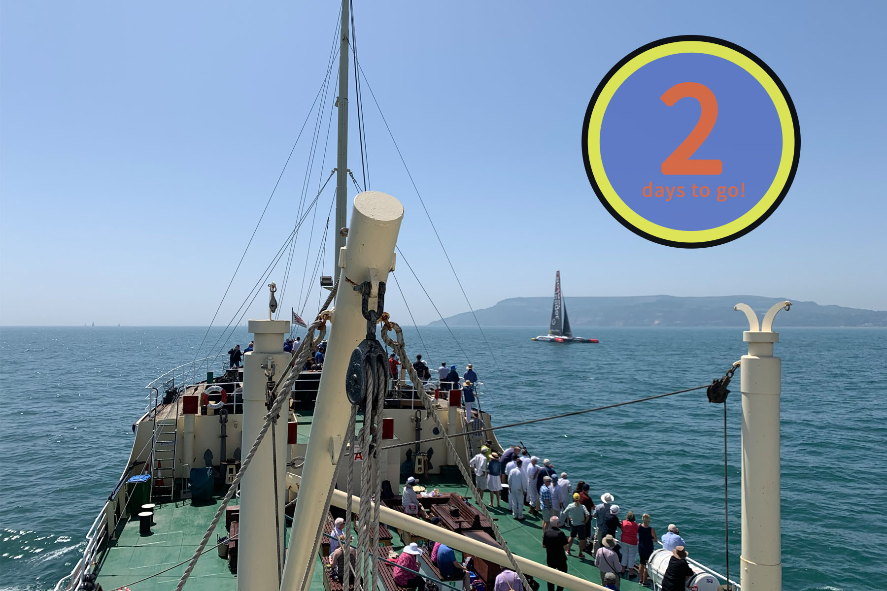 Shieldhall sailing programme 2 days to go (c) SS Shieldhall