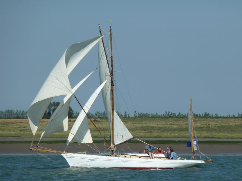 Bonita - in Swale Race