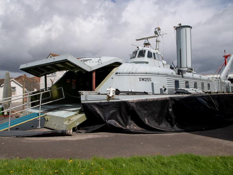 BH7 - on display at Hovercraft Museum