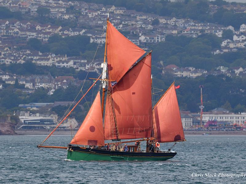 Provident off Brixham Sept 2019