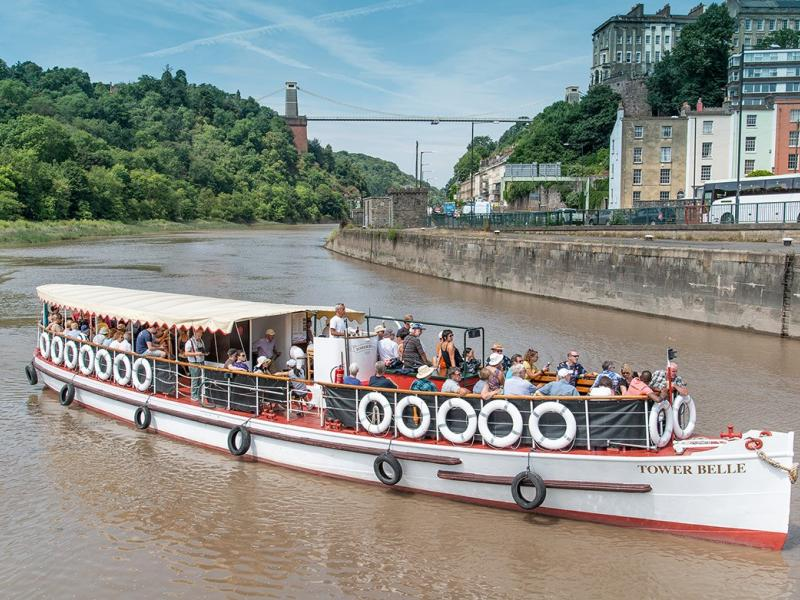 Tower Belle on the Avon River Summer 2019