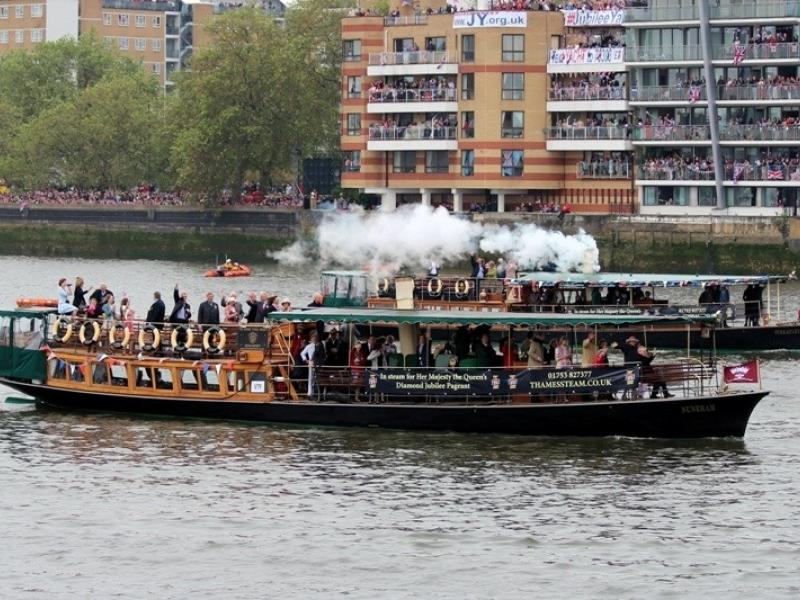 Nuneham at Queen's Jubilee Pageant 2012