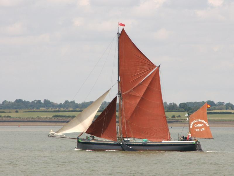 Cabby - port side view, underway, Essex.