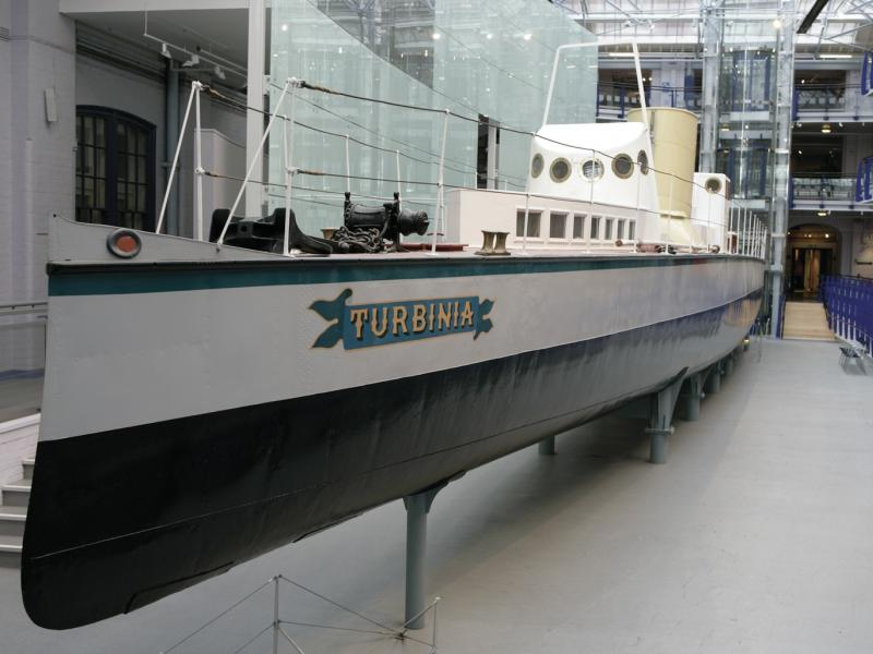 Turbinia - port bow