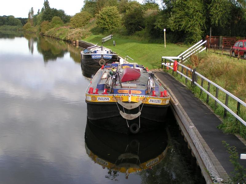 Pauline - Overnight below Dutton Lock, Pauline and Severn - Photo Comp 2011 entry