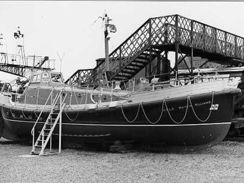Watkin Williams - starboard side view.