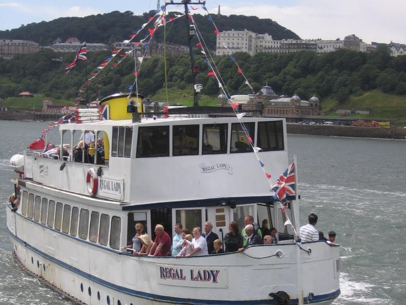 Regal Lady in Scarborough - bow view