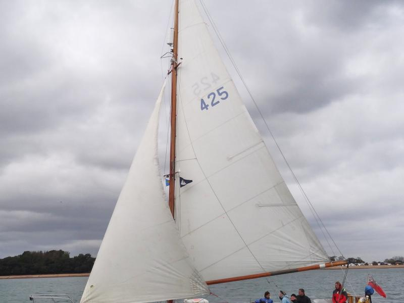 Seascamp - under sail, port view