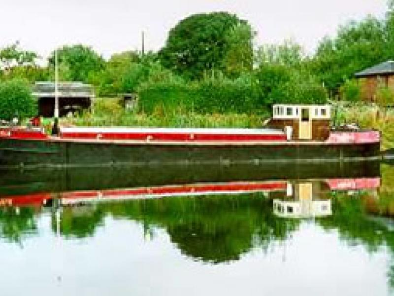 PARFIELD - on River Weaver. Port side view.