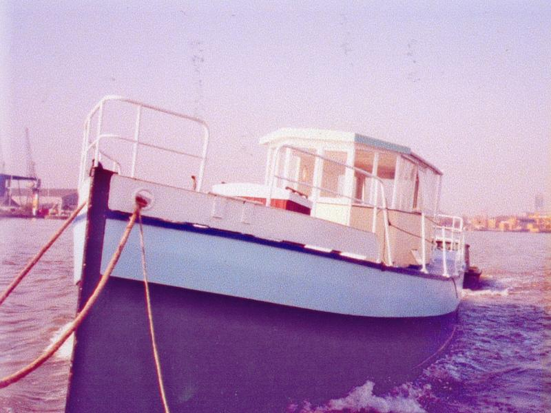 Wheelhouse - port bow view