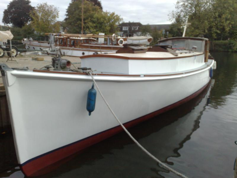 port side bow view