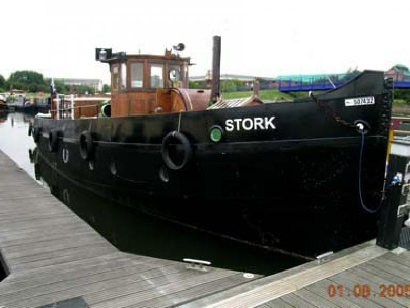 Stork - starboard bow