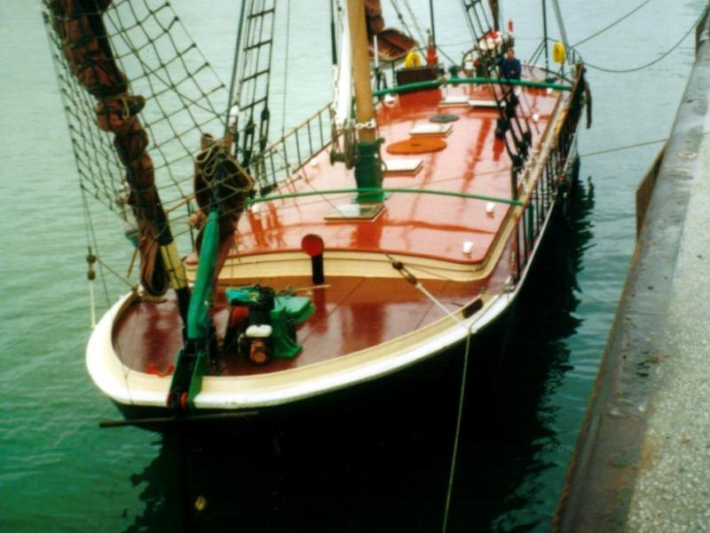 Fertile - bow looking aft
