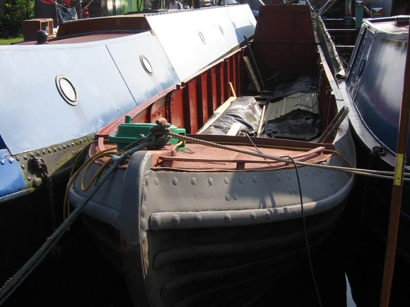 Bramble - bow looking aft