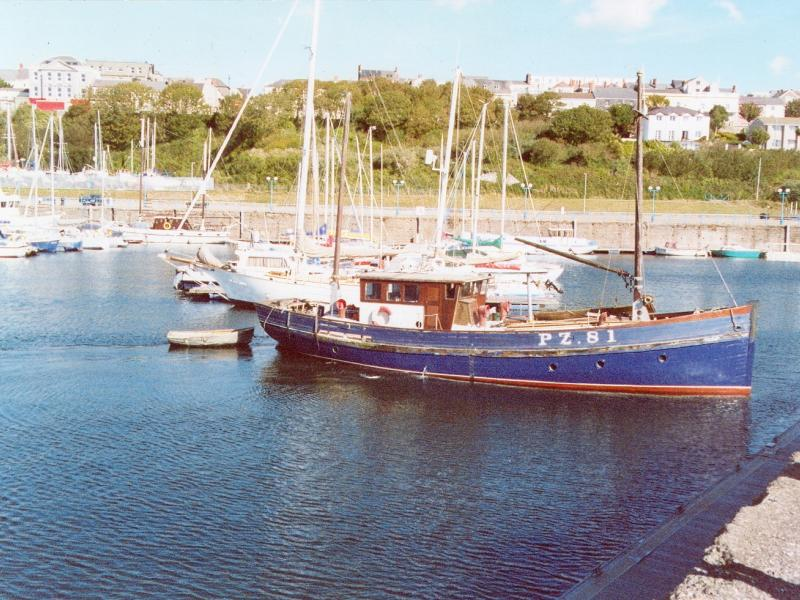 Lyonesse in Milford Haven Marina