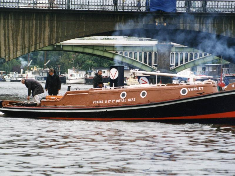 Varlet - on the Thames in Central London, starboard side