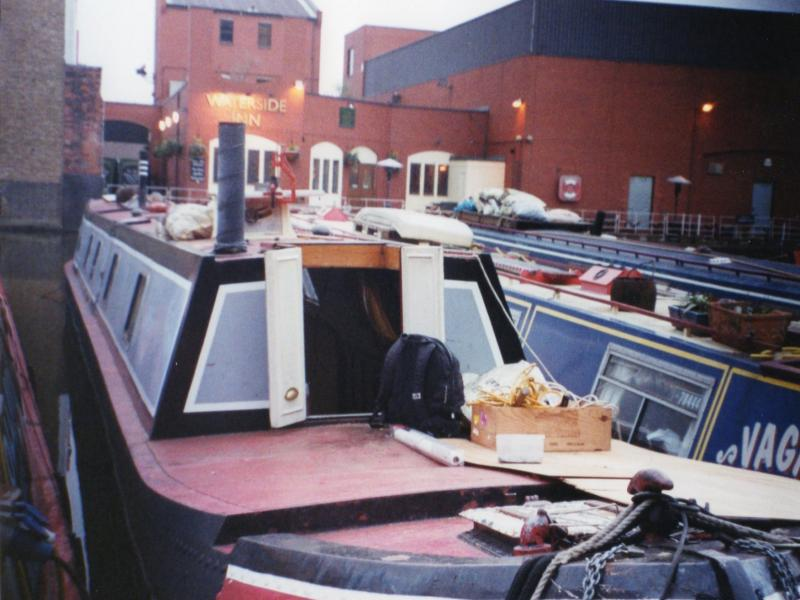 Stern view, port side
