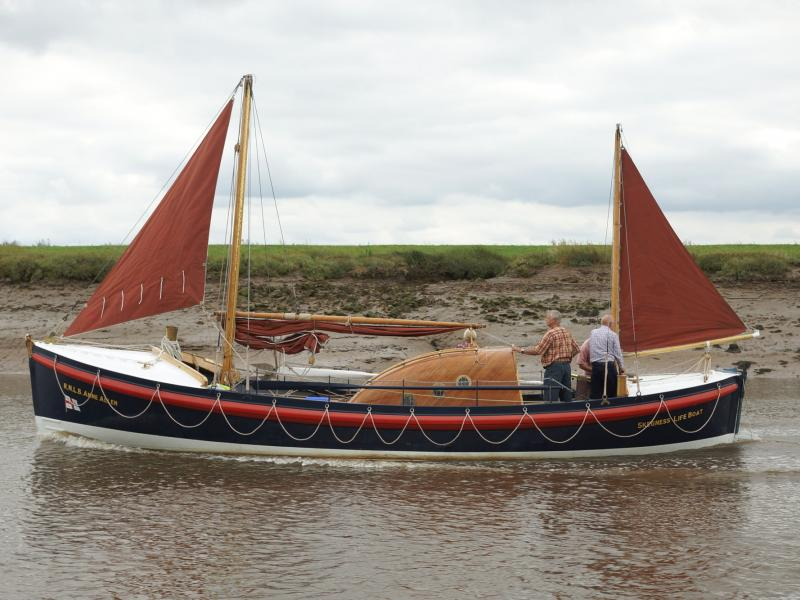 Anne Allen following restoration