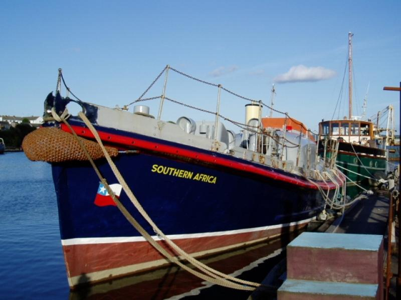 Southern Africa - bow view, port side