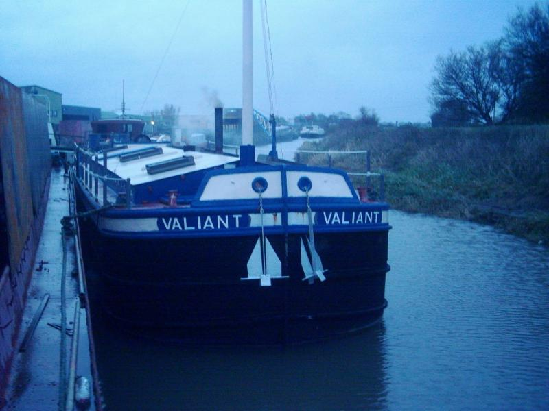 Valiant - moored at Beverly, North Yorks, 2009
