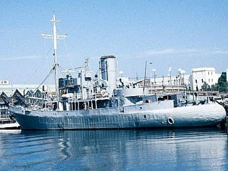 SAS Somerset, port side view