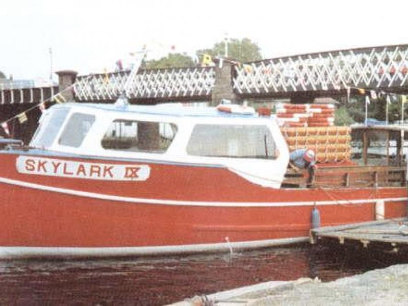 Skylark IX - port side view