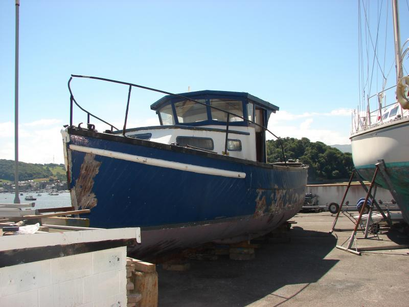 port side view