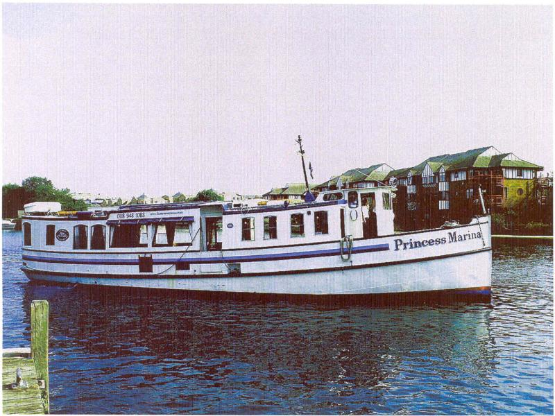 Princess Marina - starboard side