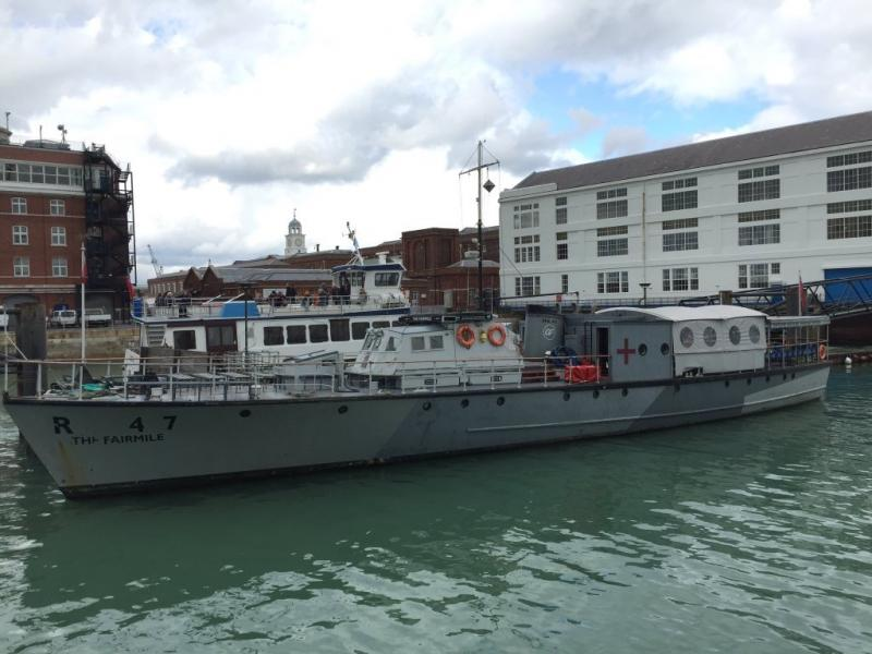 RML 497 moves to Portsmouth, 2016