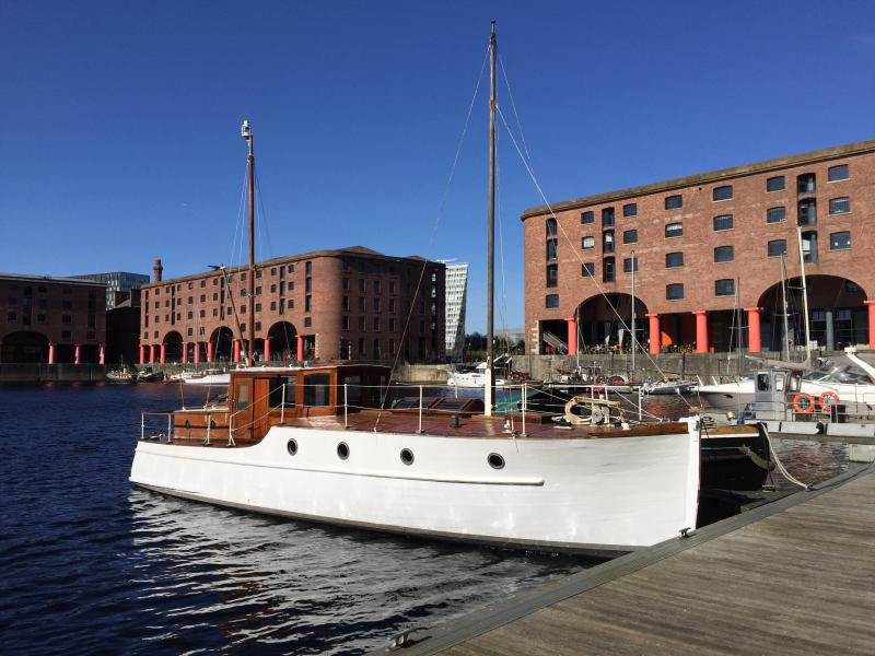 Impala in Liverpool dock