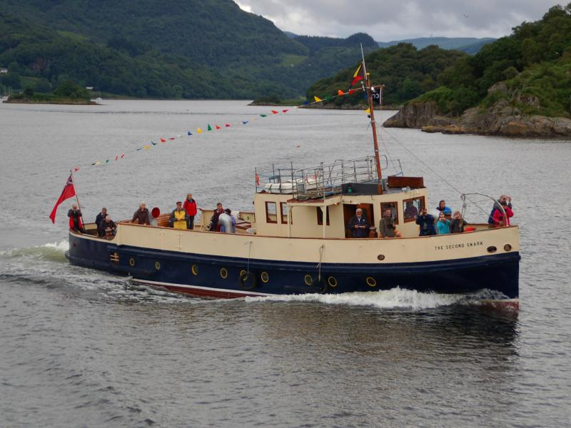 The Second Snark - performing a charter in conjunction with WAVERLEY to Loch Riddon
