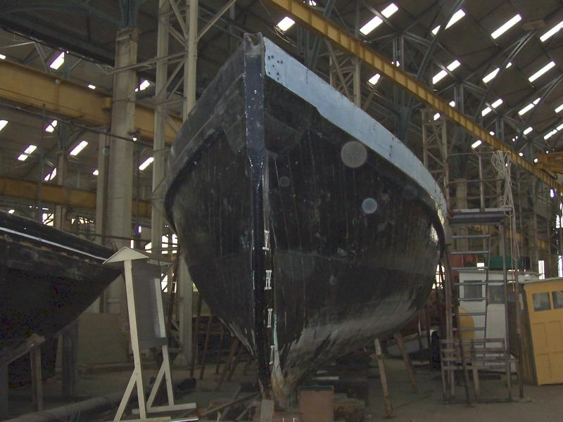 HSL 376 - bow facing, restoration