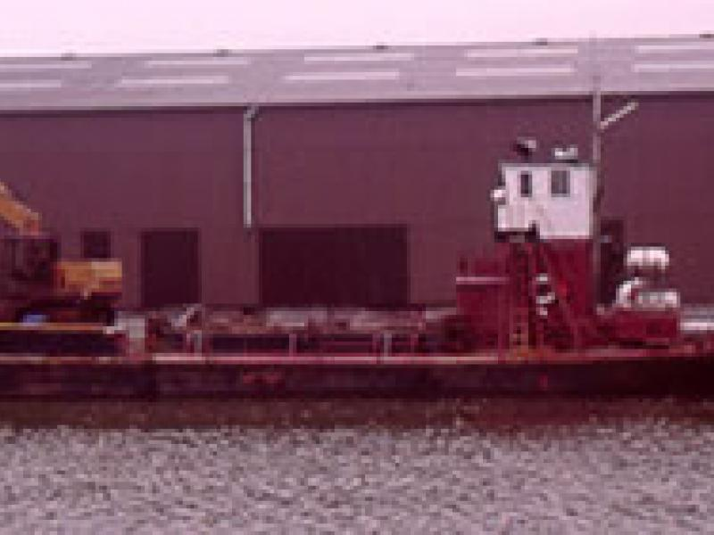 ESK - tied up at Glasson Dock. Port side. Ref: 15/esk,gif