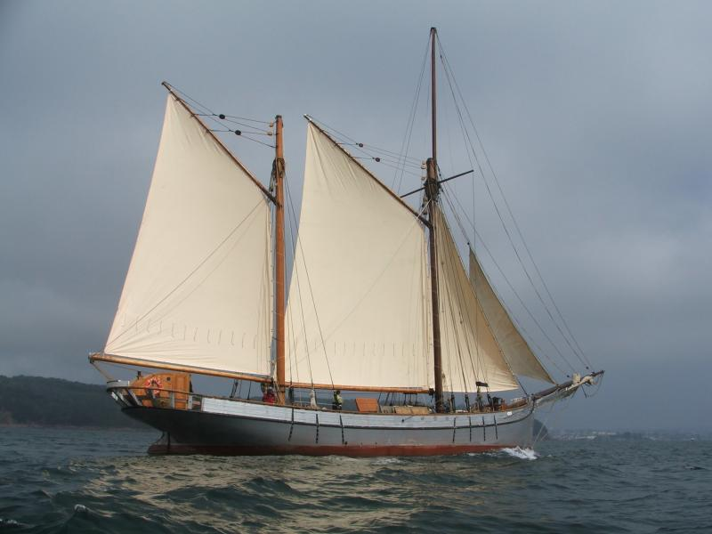 Irene - out sailing after completion of restoration project