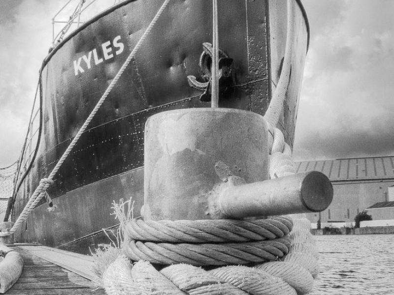 Kyles - Puffer 'Kyles' on the Clyde - Photo Comp 2011 entry
