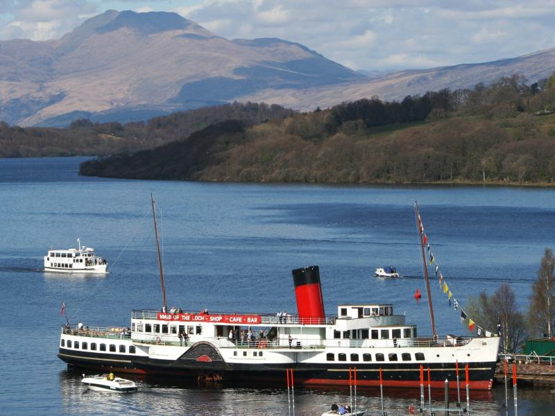 Maid of the Loch at Balloch Pier